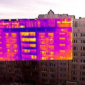 Зачем нужен тепловизионный контроль зданий?