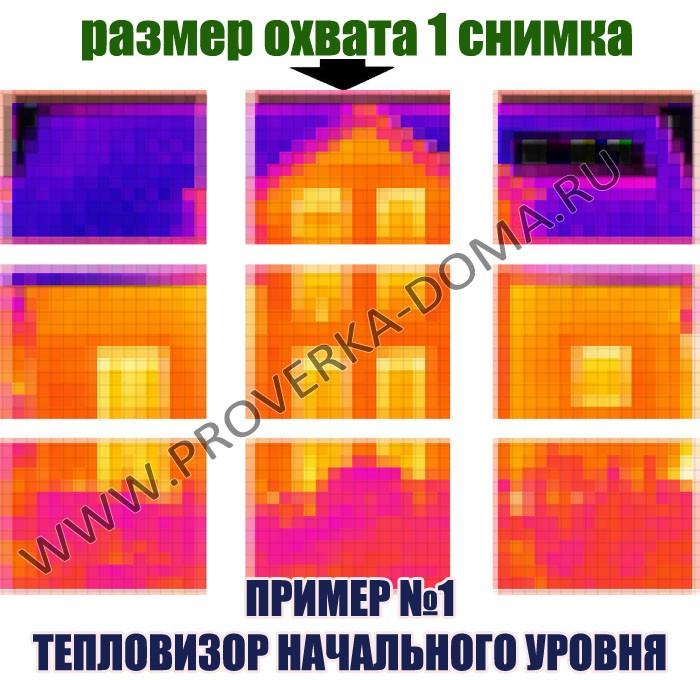 Сравнение тепловизоров - тепловизор начального уровня