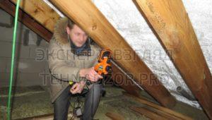 Тепловизионное обследование крыши при проверке дома перед покупкой